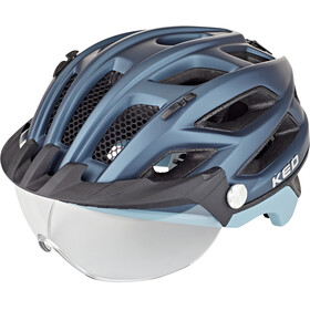 KED Covis Lite Casco, nightblue lightblue matt